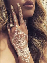 Load image into Gallery viewer, Henna Cone Temporary Tattoo
