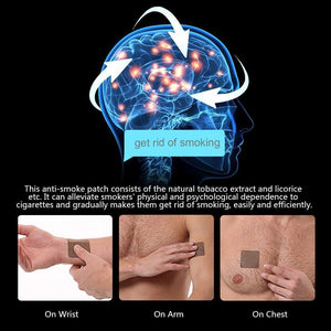 Natural Anti Smoking Patch (35 Pcs)