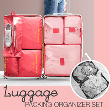 Load image into Gallery viewer, Luggage Packing Organizer Set (6pcs)