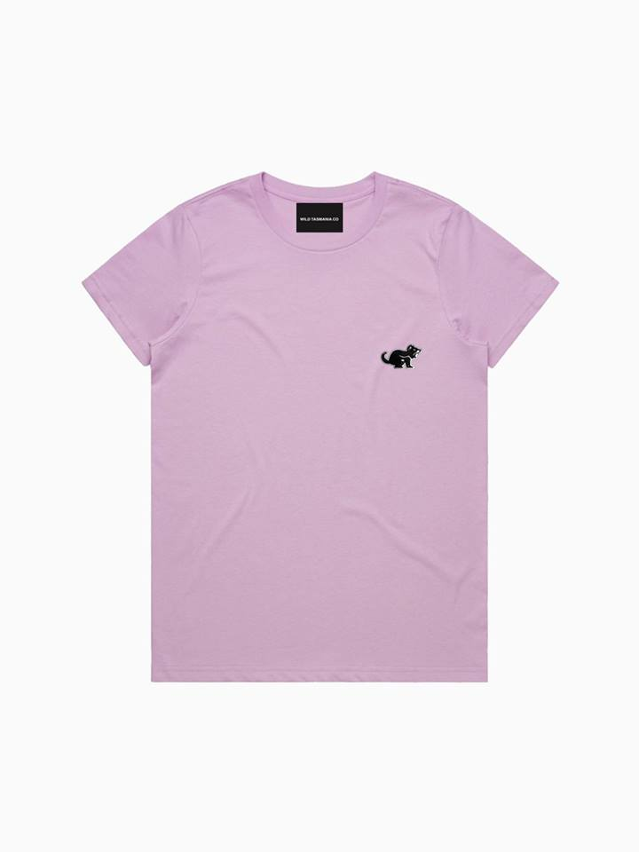 LAVENDER LADIES TEE