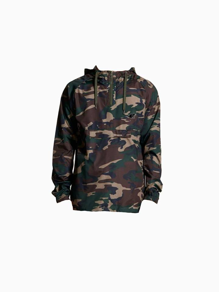 WILD WINDBREAKER JACKET | CAMO