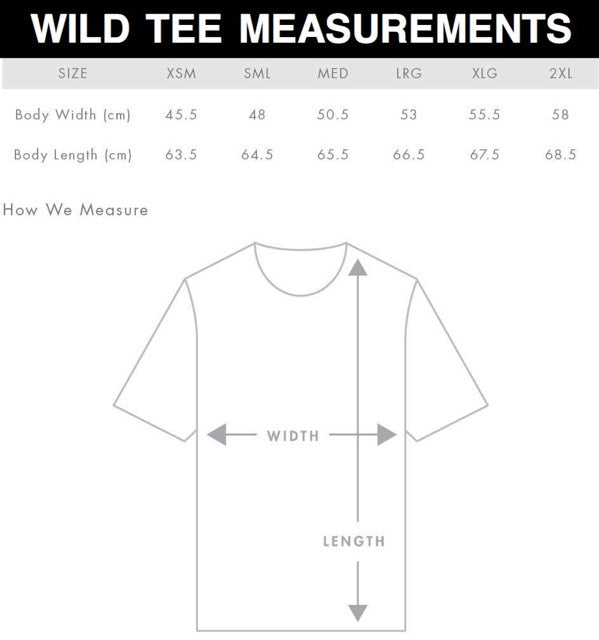 LADIES WILD TEE | WHITE