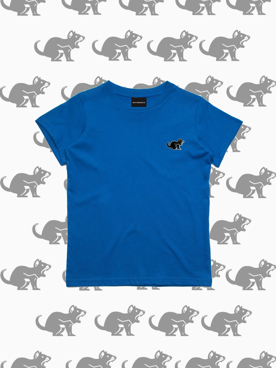 KIDS TEE | BRIGHT BLUE