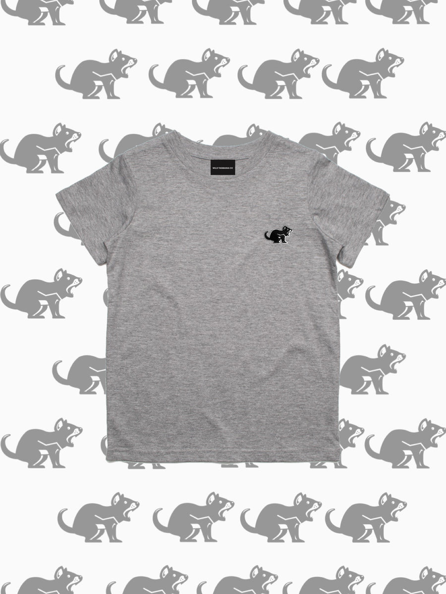 KIDS TEE | LIGHT GREY