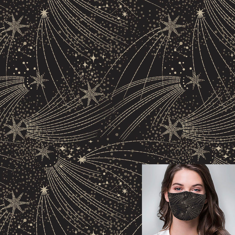 Deco Stars Printed Mask