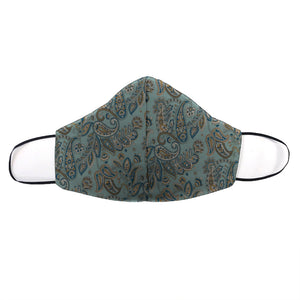 Dapper Paisley Printed Mask