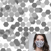 Hexagon Printed Mask