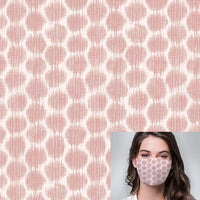 Ikat Inspired Printed Mask
