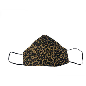 Leopard Print Youth Sized Printed Masks