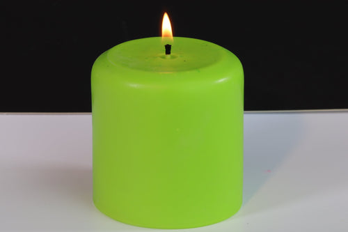 Citronella Scented Soy Wax Pillar Candle