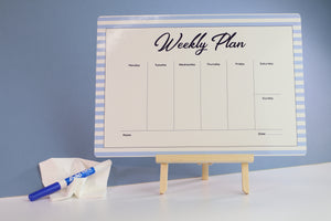 Weekly Planner Fridge Magnet Marker Board
