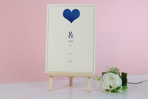 Deluxe Love Themed Wedding Invitations