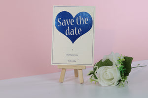 Deluxe Love Themed Wedding Save The Date Cards