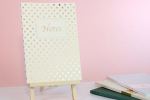 Spotted Notebook