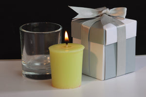 Jasmin Scented Soy Wax Votive Candle