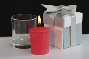 Orchid Scented Soy Wax Votive Candle
