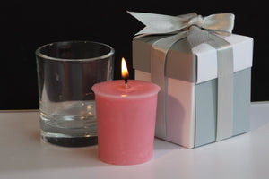 Tranquil Scented Soy Wax Votive Candle