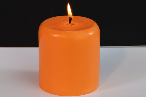 Tropical Scented Soy Wax Pillar Candle