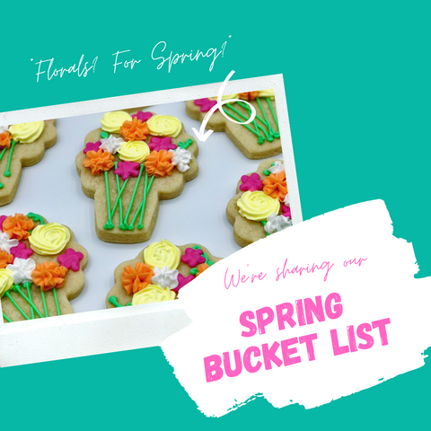 Southern Home Bakery Spring Bucket List