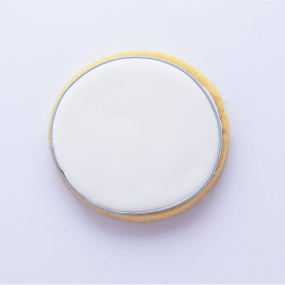 Custom Wording Cookie - Circle