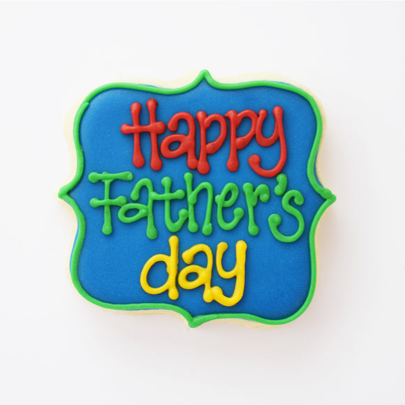 Happy Father's Day Plaque