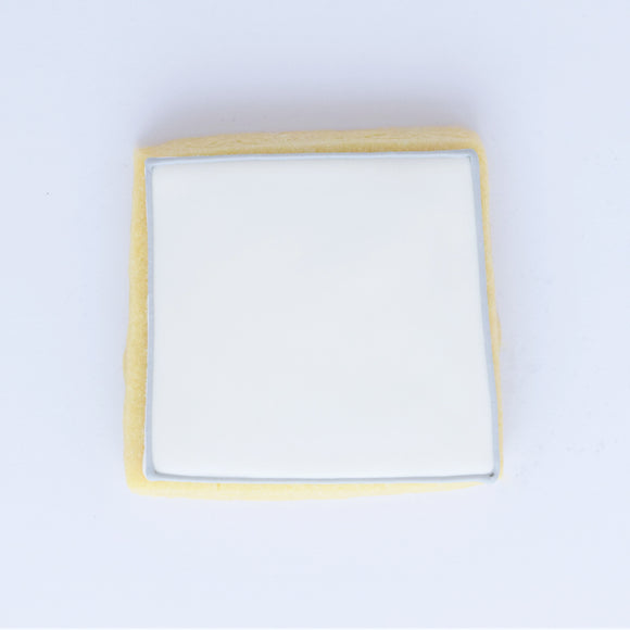 Custom Wording Cookie - Square