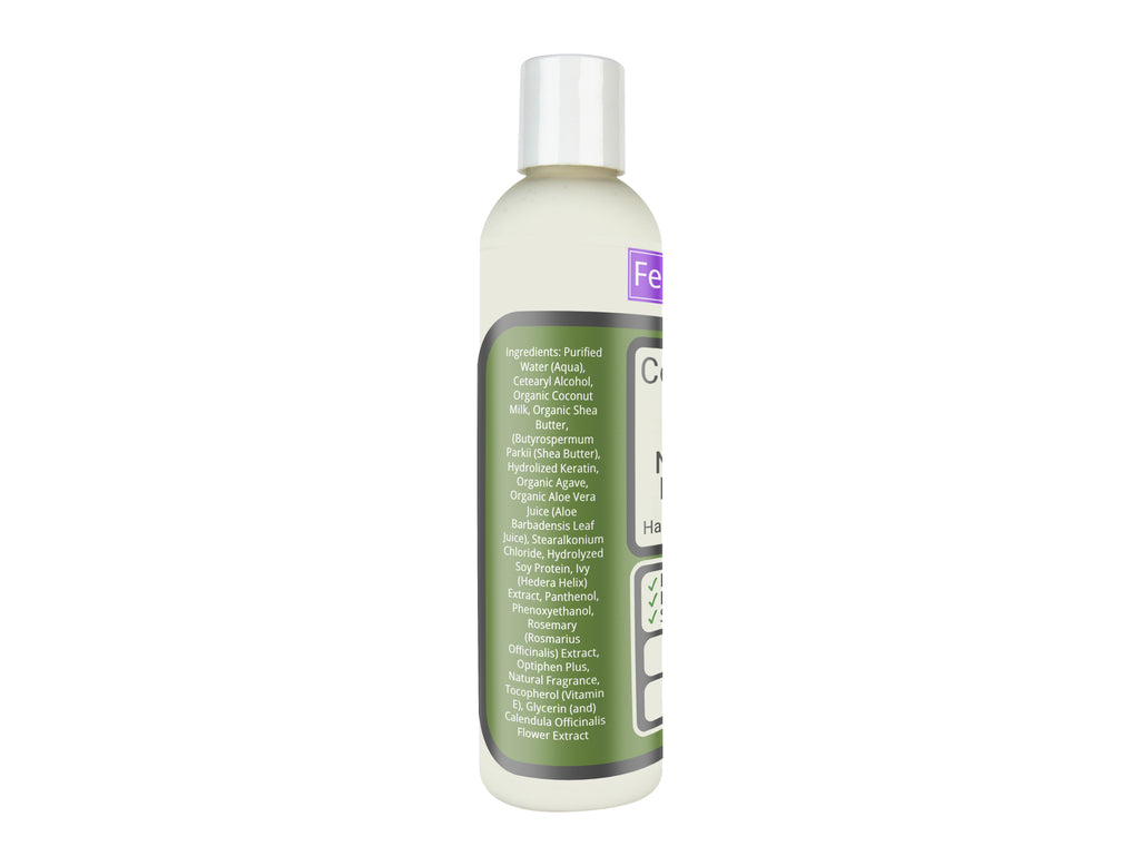 Organic Coconut Milk & Natural Keratin Hair Moisturizer