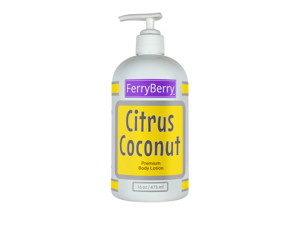 Citrus Coconut Premium Body Lotion