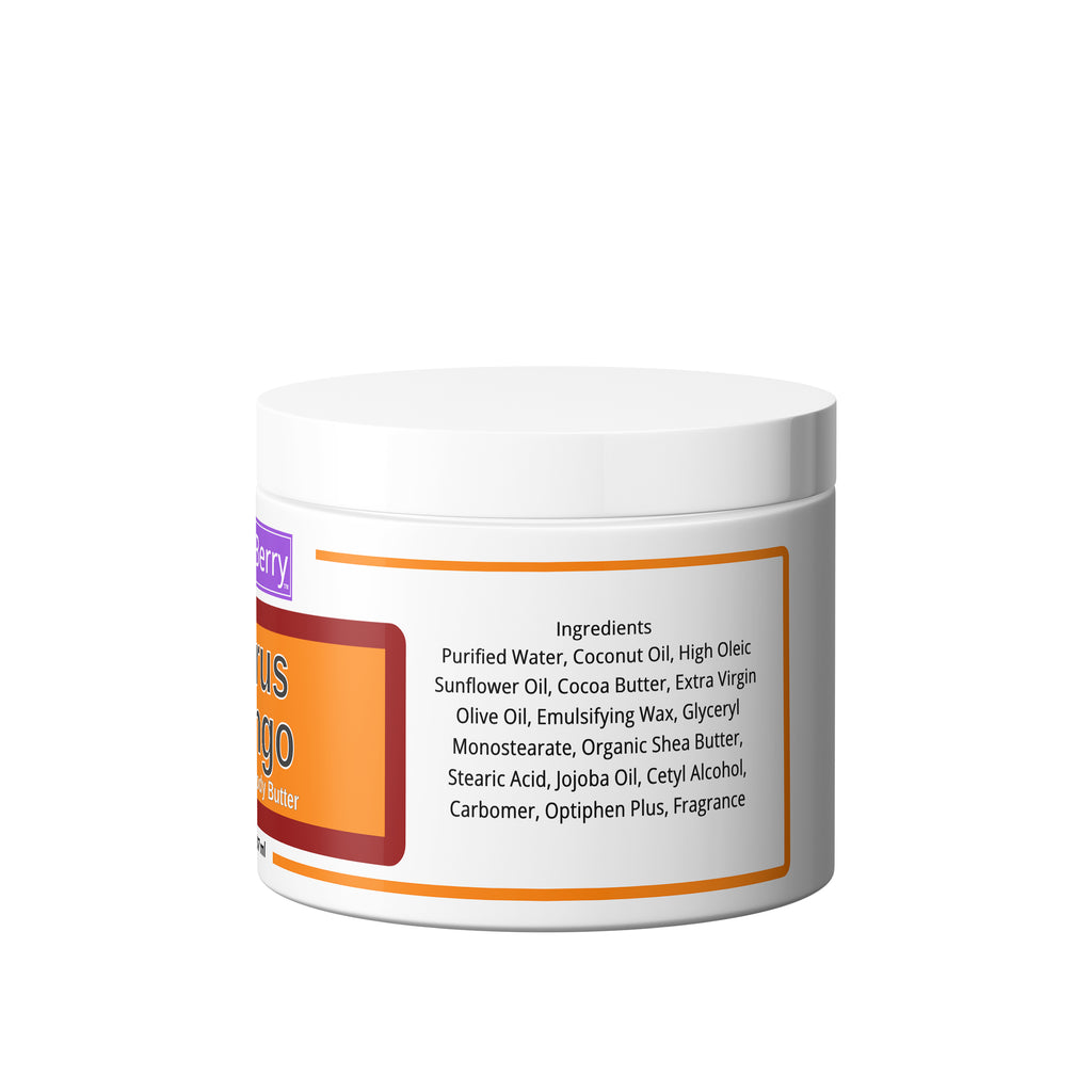 Citrus Mango Premium Body Butter (8 oz)
