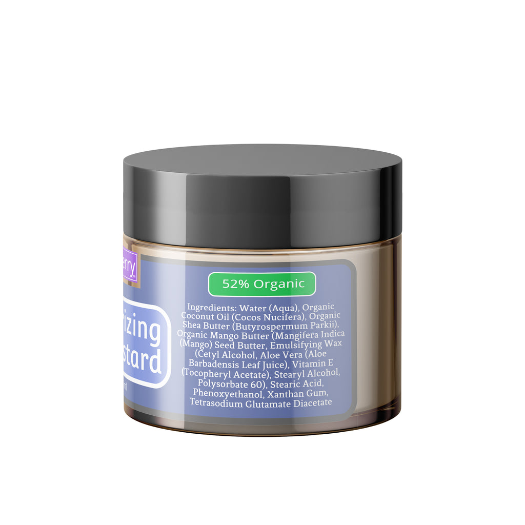 Organic Moisturizing Hair Custard