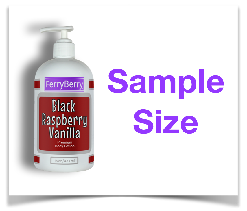 SAMPLE SIZE - Black Raspberry Vanilla Premium Body Lotion