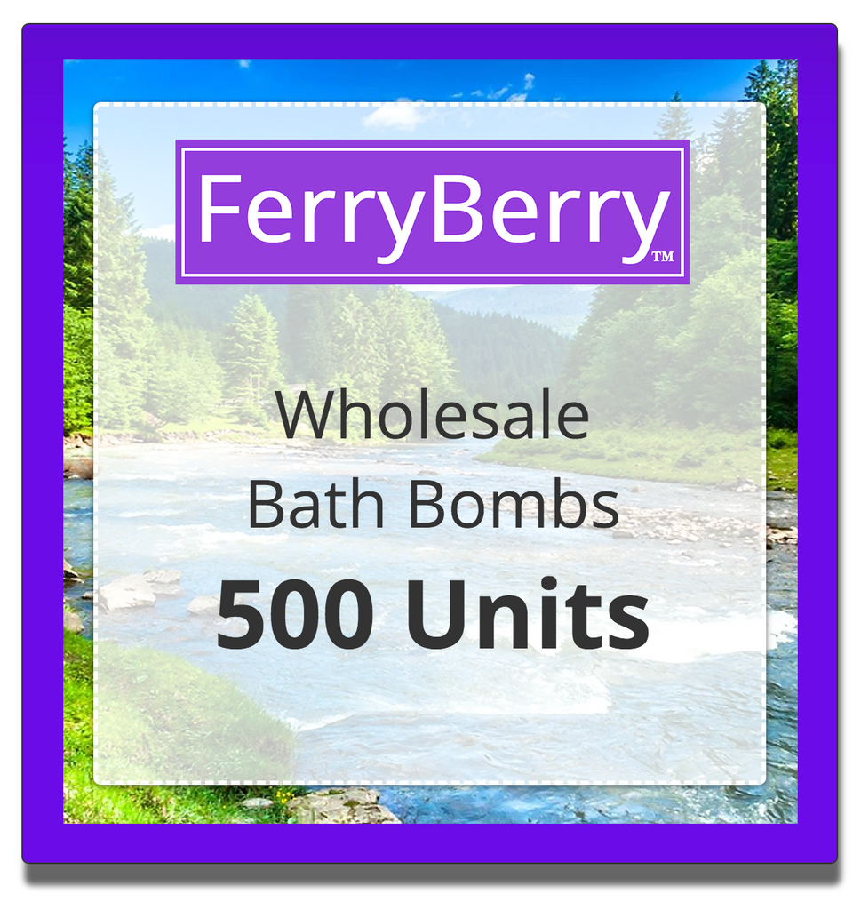 Wholesale Bath Bombs - 500 Units
