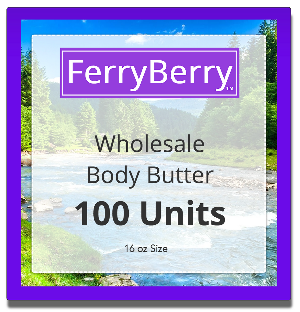 Wholesale Body Butter - 100 Units (16 oz size)