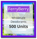 Wholesale Deodorants - 500 Units