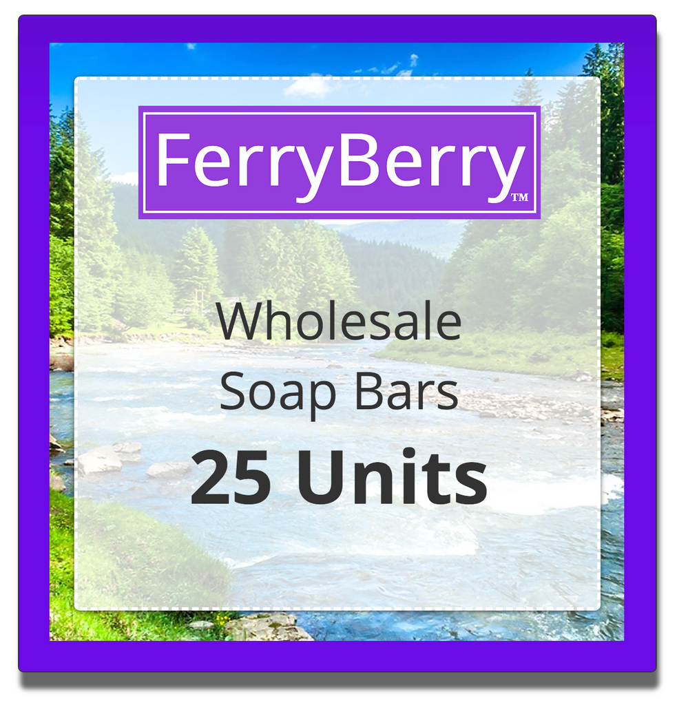 Wholesale Soap Bars - 25 Units
