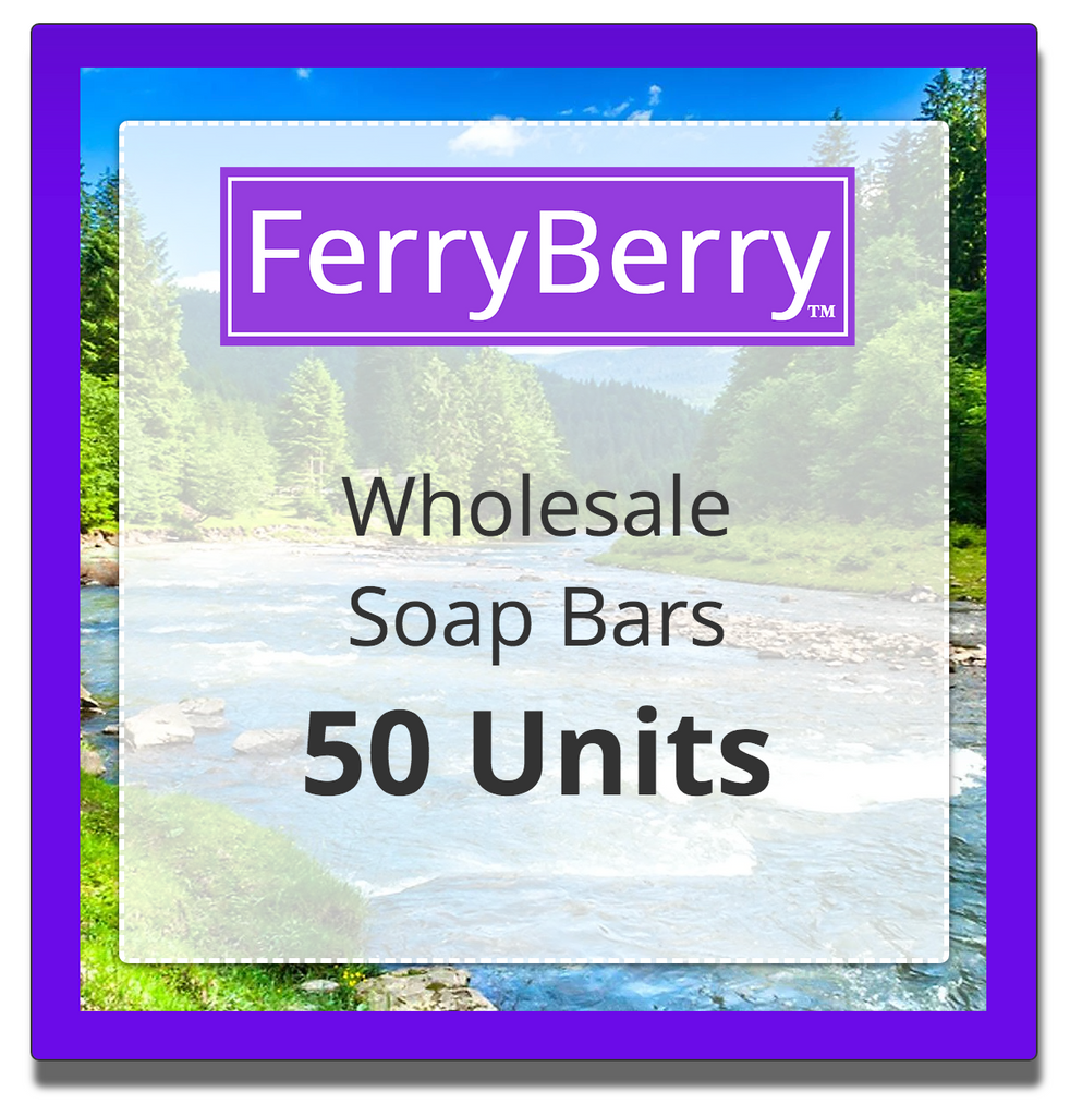 Wholesale Soap Bars - 50 Units