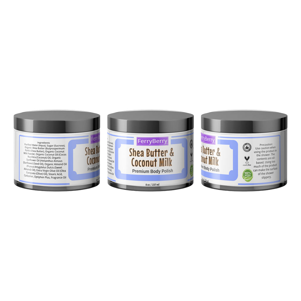 Shea Butter & Coconut Milk Body Polish