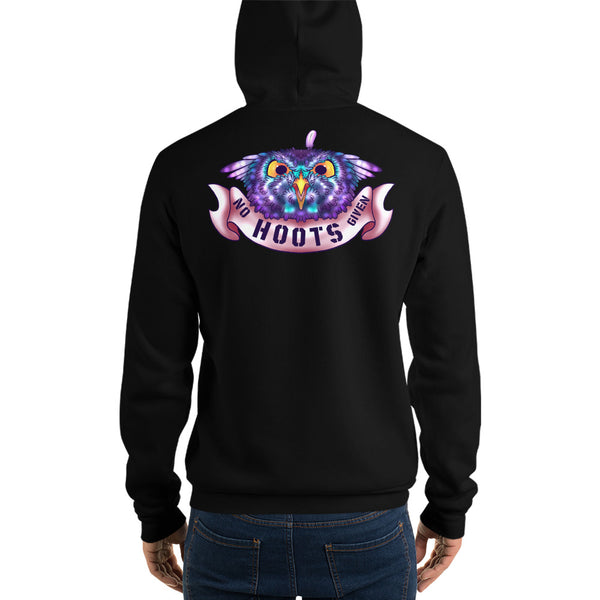 No Hoots Given hoodie