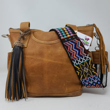 Load image into Gallery viewer, MULTI COLOR LEATHER FRINGE