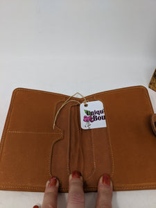 PASSPORT WALLET FULL GRAIN CAFE LEATHER