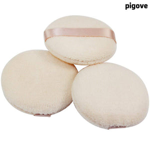Load image into Gallery viewer, Pigove Powder Puff for Makeup Face Powder (3 Pieces)