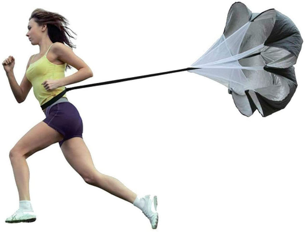 Load image into Gallery viewer, LPOW Speed Parachute Resistance Running Umbrella Speed Training Resistance Soccer Training Weight Bearing Fitness Parachute.