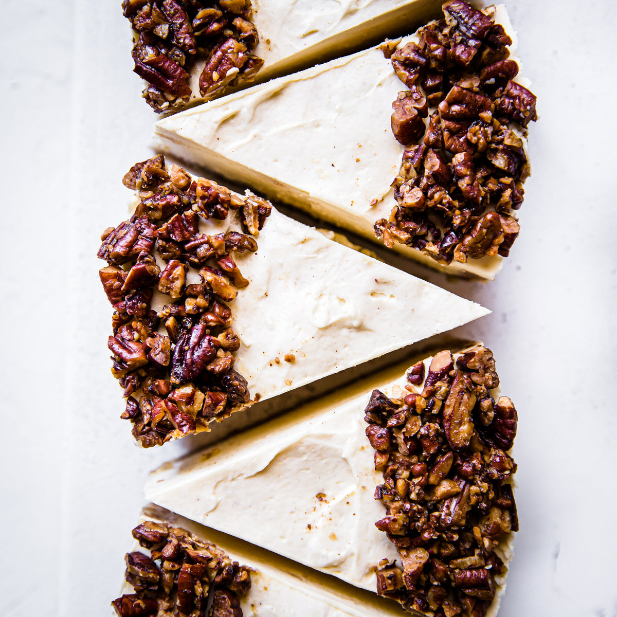 Browned Butter and Pecan Cheesecake