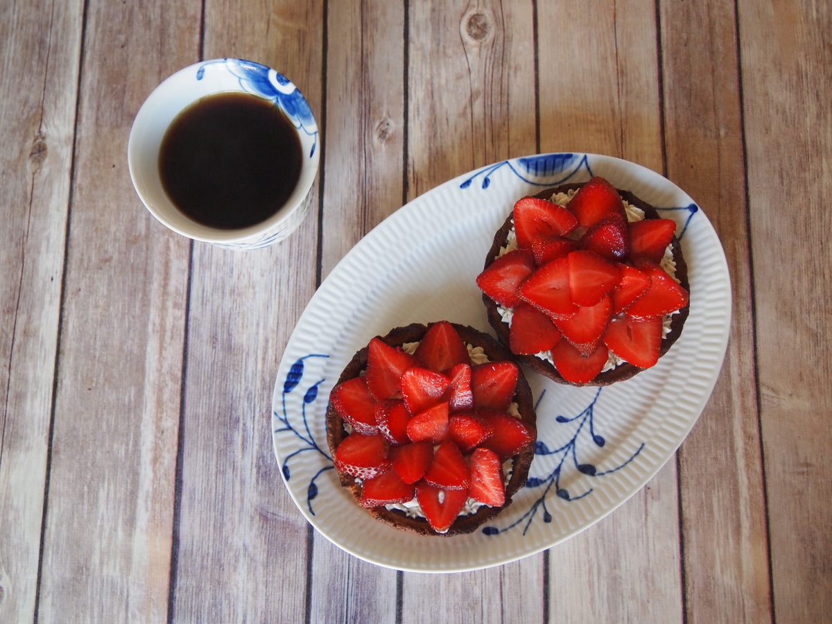 No Sugar Added Refreshing Strawberry Tartlets