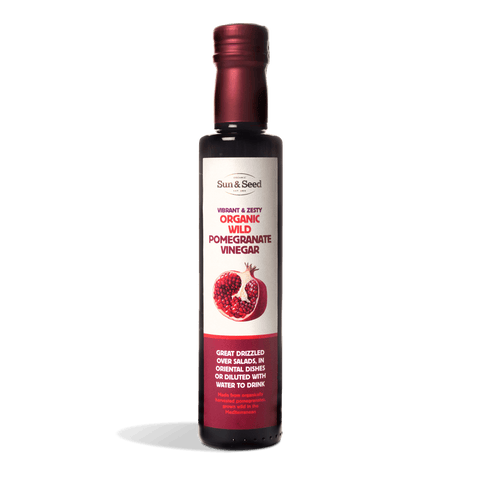 Organic Wild Pomegranate Vinegar