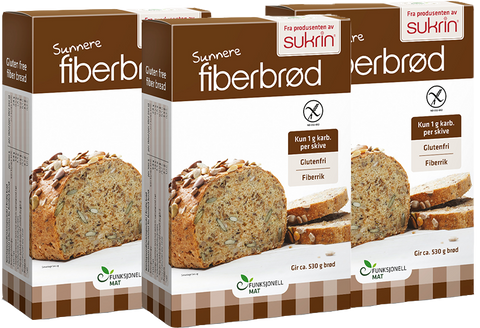 Fiber Bread Mix Package