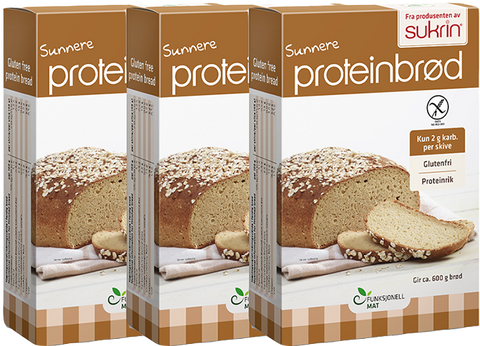 Protein Bread Mix Package