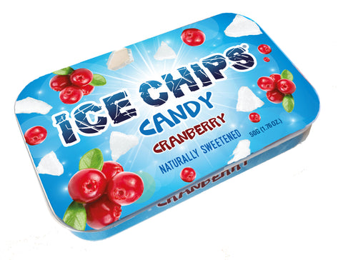Cranberry Ice Chips
