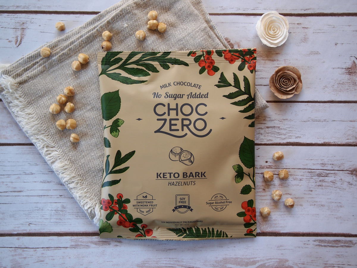 Keto Bark Milk Hazelnut