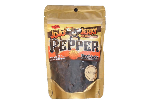 Sugar Free Pepper Jerky
